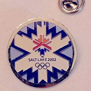 Collectible Salt Lake Olympic Official Logo Pin